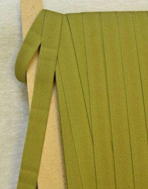 Лента техническая 20мм, хлопок-100%, цв.зеленый хаки