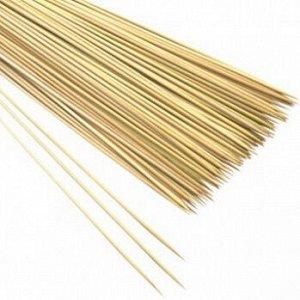 Палочки-шпажки деревянные 20 см, 100 шт