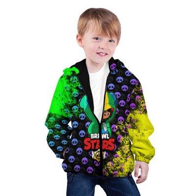 Brawl Stars. Детская одежда и аксессуары — Новинка! Куртка детская Brawl Stars! — Верхняя одежда