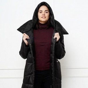 Пальто женское черный