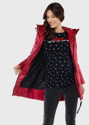 """Куртка демис. 2в1 """"Берн"""" для беременных; красный"""