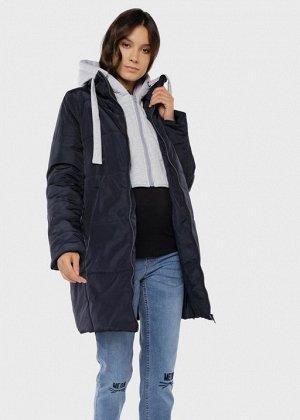 """Куртка демис. 2в1 """"Бриошь"""" для беременных; синий"""