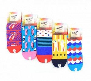 Женские носки Super Socks LTB-102H хлопок арт.16