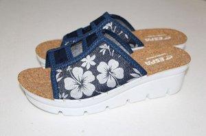 Туфли повседневные с верхом из текстильных материалов женские
