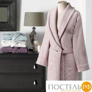 1213T10025117L Tivolyo Home LISA халат грязно-розовый L