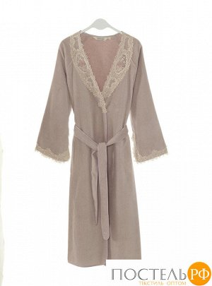 1013G10019116S Soft cotton халат DESTAN S лиловый