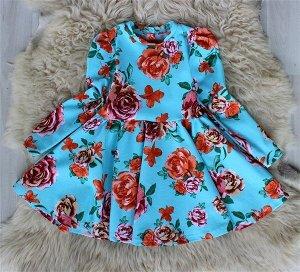 Платье «Татьянка» ГОЛУБОЙ