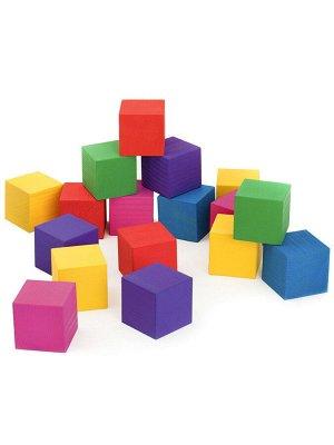 Кубики цветные 20 шт Томик