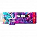 """Бумага туалетная """"Maneki"""" DREAM 2 слоя, 107 л., 15 м., с тиснением и ароматом магнолии, 12 р/упак"""