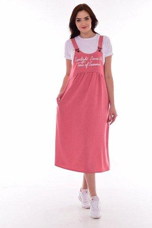 *Сарафан женский Ф-4-07б (розовый)