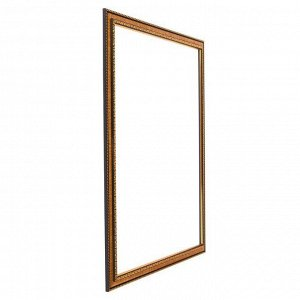 Рама для картин (зеркал) 40 х 50 х 2.8 см. пластиковая. Calligrata. золото