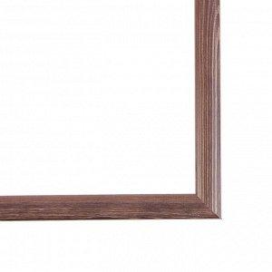 Рама для картин (зеркал) 30 х 40 х 2.6 см. дерево. Berta темно-коричневая
