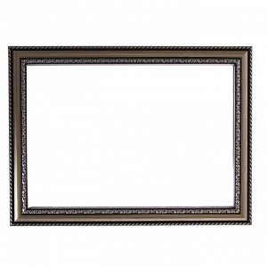 Рама для картин (зеркал) 21 х 30 х 2.8 см. пластиковая. Calligrata. серебро