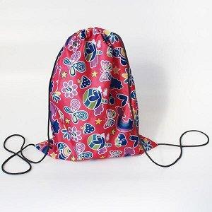 Сумка-рюкзак для сменной обуви фантазия