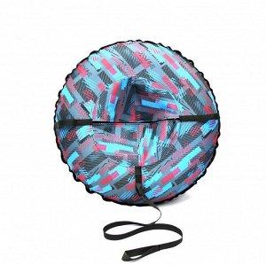 """Надувные санки тюбинг/ватрушка """"Графика"""" диаметр 80 см. Быстрик"""