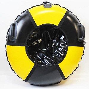 """Надувные санки тюбинг/ватрушка """"Реактор"""" диаметр 110 см. Быстрик"""
