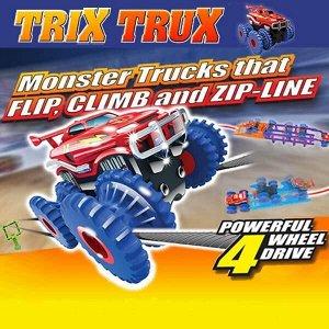 Канатный трек Монстр-трак Trix Trux