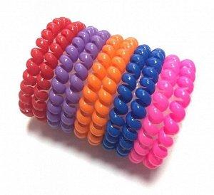 Резинка-пружинка для волос набор №224 10 шт.