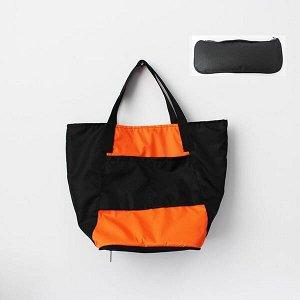 Складная сумка Magic Bag 25 литров Оранжево-черная