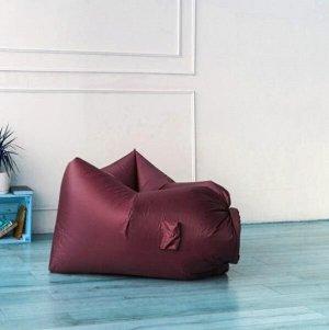 Надувное кресло-лежак Ламзак с карманами LAMZAC Россия бордо