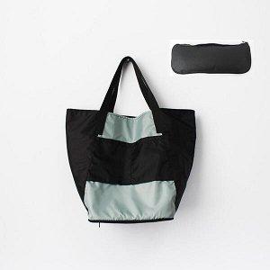 Складная сумка Magic Bag 25 литров Серо-черная