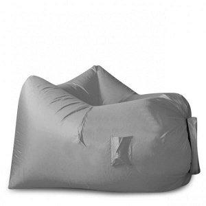 Надувное кресло-лежак Ламзак с карманами LAMZAC Россия светло-серый