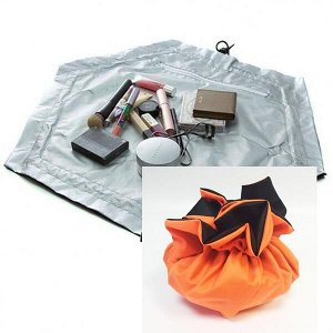 Органайзер-косметичка Cinch-Up ярко-оранжевая