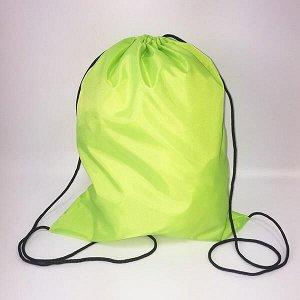 Сумка-рюкзак для сменной обуви лимонный