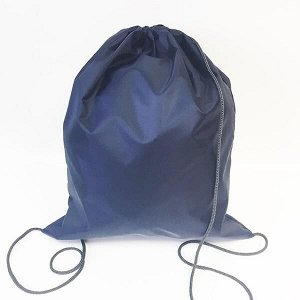 Сумка-рюкзак для сменной обуви синий/чернильный