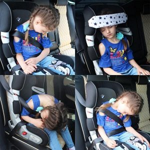 Держатель/Фиксатор для головы ребенка в автокресле Автоняня Звезды