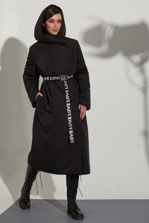 Пальто Пальто Golden Valley 7110 №1  Состав: ПЭ-100%; Сезон: Осень-Зима Рост: 170  Утепленное пальто с центральной двубортной застежкой на кнопки, капюшоном. В боковых швах расположены карманы с заст