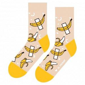 Носки. Банан на скотче