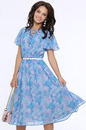 Платье Чувство прекрасного, фэшн, с ремешком