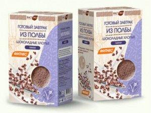 Готовый завтрак из ПОЛБЫ шоколадные хлопья МИНИ, 200г.