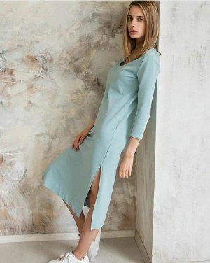 Платье Очень удобное, трикотажное платье.. для тех кто ценит комфорт и женственность.тонкий трикотаж, сезон-лето!