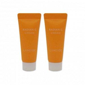 Laneige Radian-C Cream Увлажняющий витаминный крем, 7мл