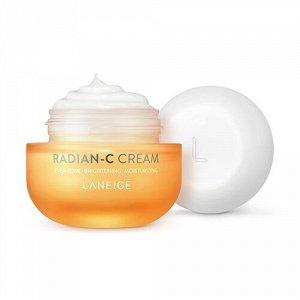 Laneige Radian-C Cream Увлажняющий витаминный крем 10мл