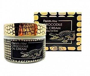 Farm Stay Crocodile Oil Cream Крем с крокодильим жиром, 70 гр