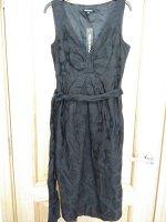 Платье черное хб