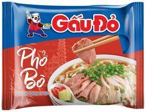 Gau Do рисовая лапша Фо Бо говядина 65гр