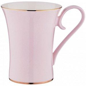 Кружка КРУЖКА 430 МЛ (КОР=48ШТ.)  Материал: Фарфор Кружка LEFARD выполнена из высококачественного фарфора и покрыта нежно-розовой глазурью. Эта кружка станет отличным подарком и не оставит равнодушны