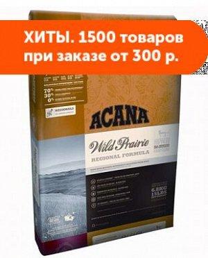 Acana Wild Prairie сухой корм для кошек с Цыпленком и Рыбой 0,34кг