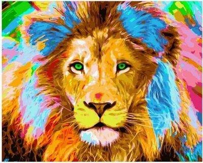 Алмазные мозаики любых форматов и размеров от 121 руб. — Животные - Картины по номерам Paintboy (40*50 см) — Живопись по номерам