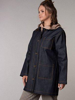 Куртка-ветровка из джинсы  (Пт-4-1)