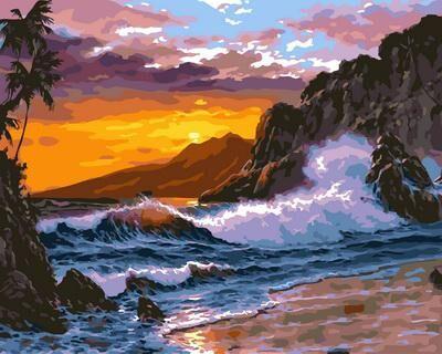 Хобби и творчество. Мегавыбор! Низкие цены! - 67 — Море, корабли - Картины по номерам Paintboy (40*50 см) — Рисование