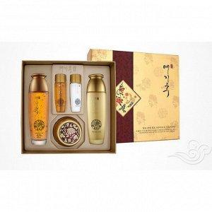 YEZIHU jamyeng gold skin care Уходовый набор с коллоидным золотом 3set