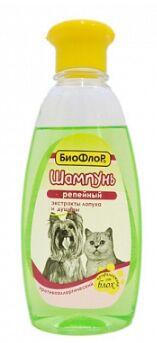 Шампунь Биофлор Репейный противоаллергенный для собак и кошек 245мл