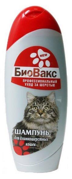 Шампунь Биовакс для длинношёрстных кошек 355мл