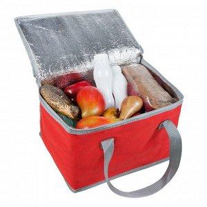 Сумка холодильник Glacier, красная