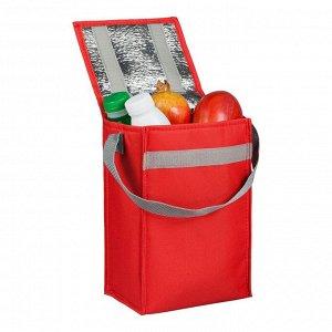Сумка холодильник Penguin, красная